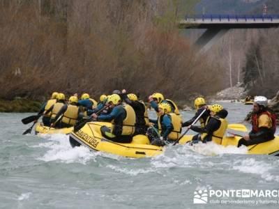 Rafting río Ara; tiendas de senderismo en madrid; batuecas sierra de francia